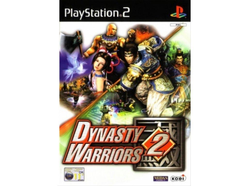 PS2 Dynasty Warriors 2