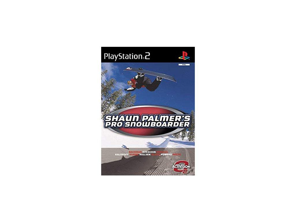 PS2 Shaun Palmer's Pro Snowboarder