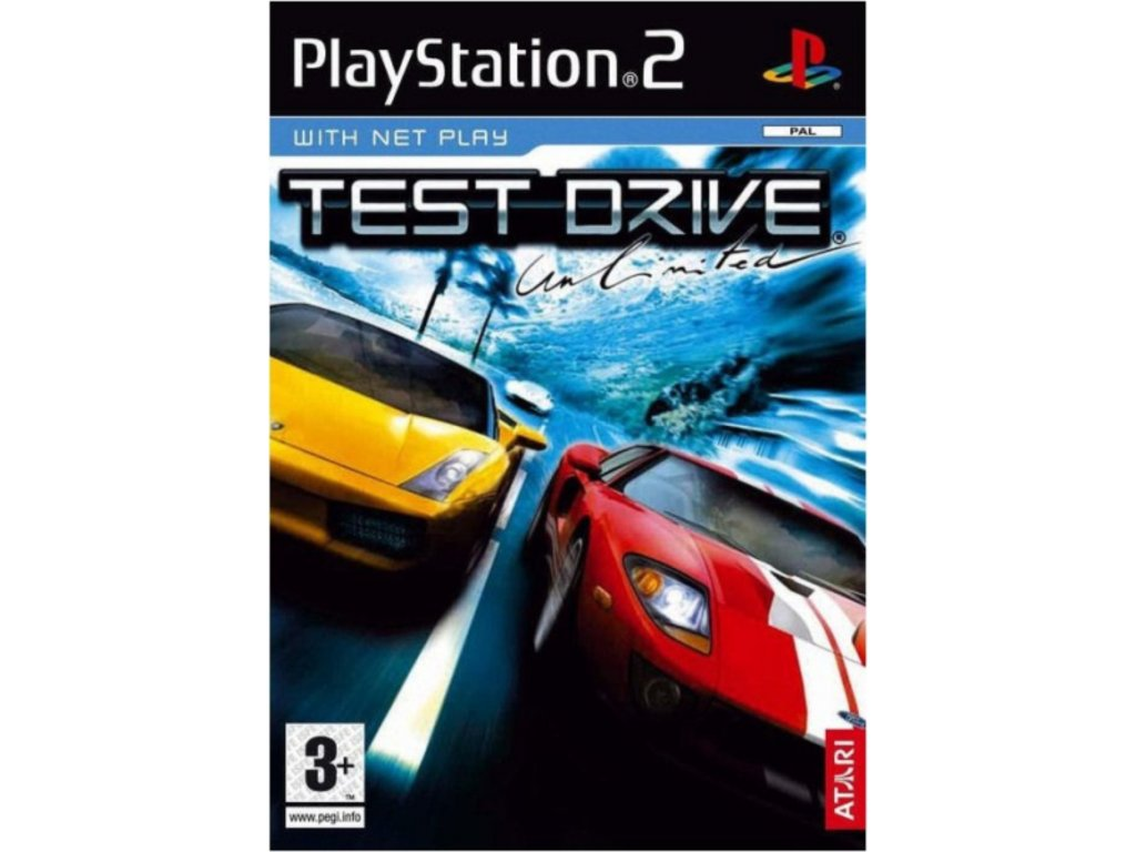 PS2 Test Drive Unlimited