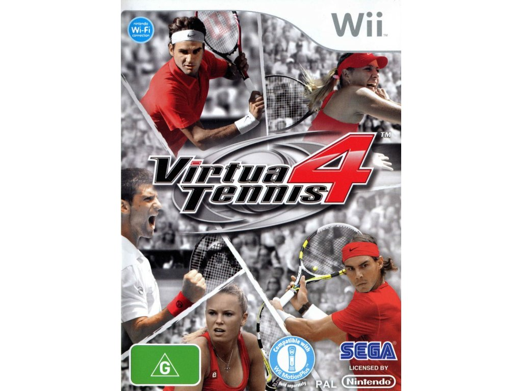 Wii Virtua Tennis 4