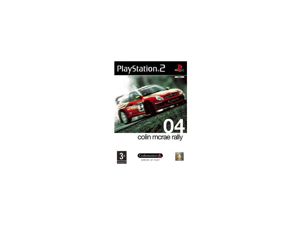 PS2 Colin McRae Rally 4