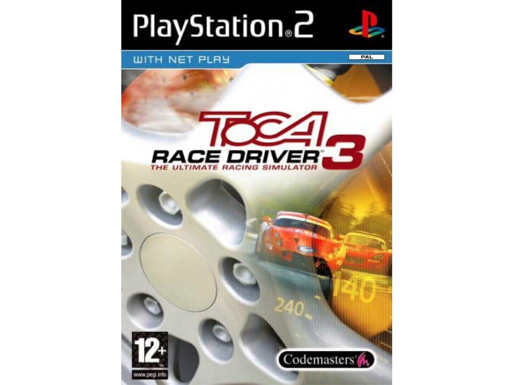 PS2 TOCA Race Driver 3