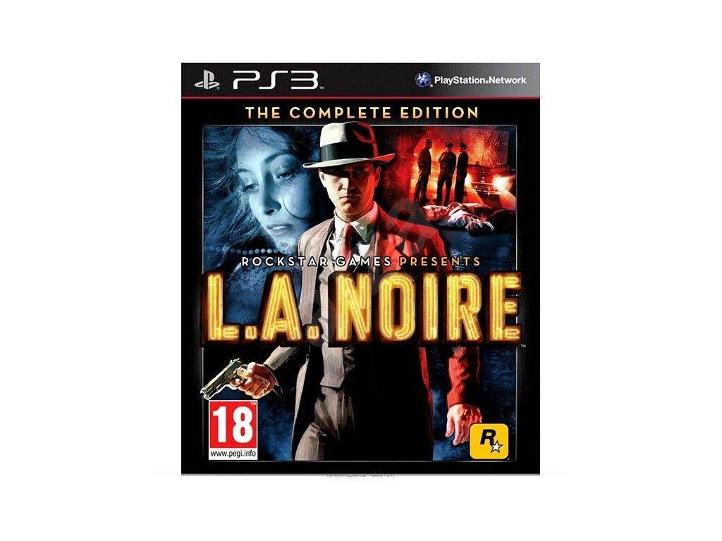 PS3 L.A. Noire Complete Edition