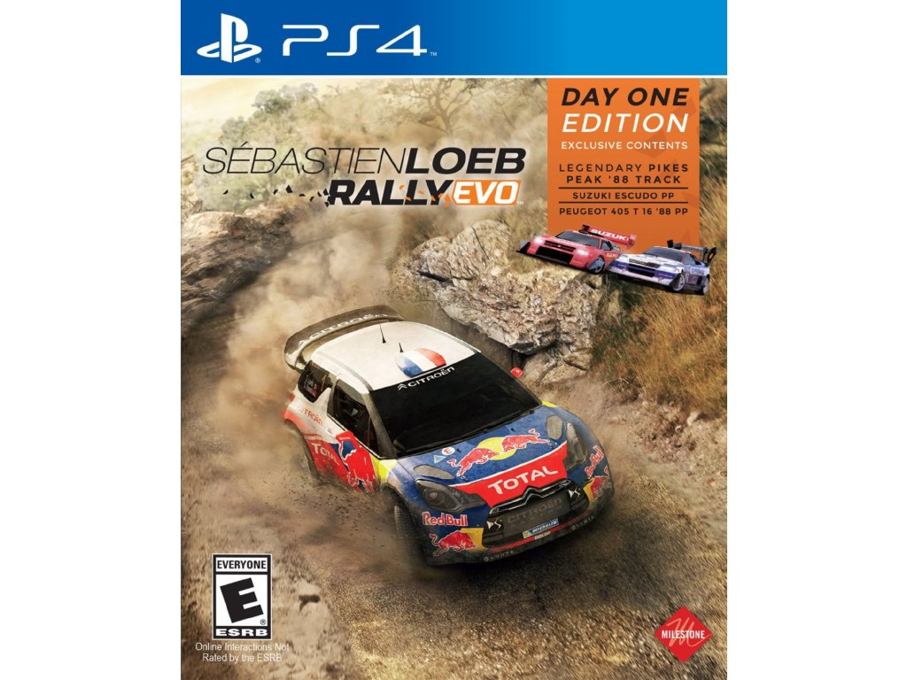PS4 Sébastien Loeb Rally EVO (Day 1 Edition)