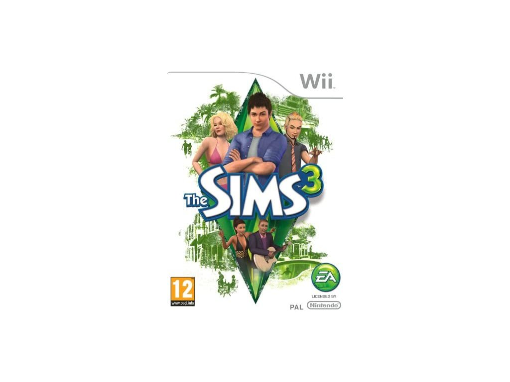 Wii Sims 3
