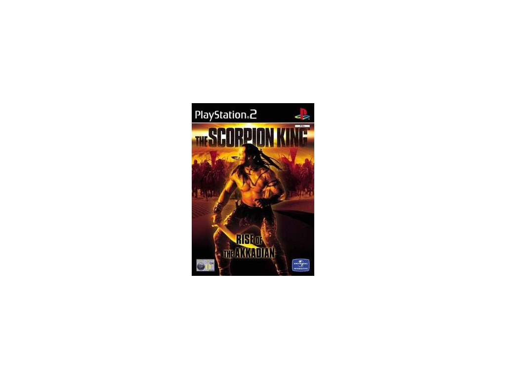 PS2 The Scorpion King: Rise of the Akkadian