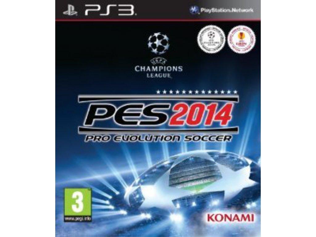 PS3 Pro Evolution Soccer 2014