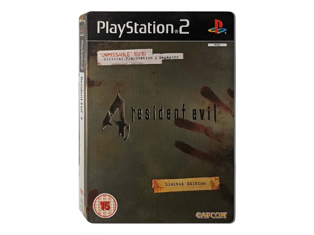 PS2 Resident Evil 4: Limited Edition Steelbook