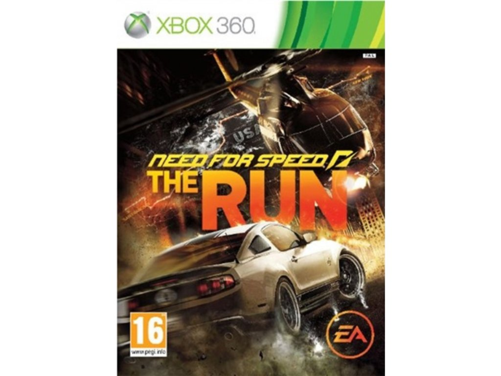 XBOX 360 Need for Speed The Run