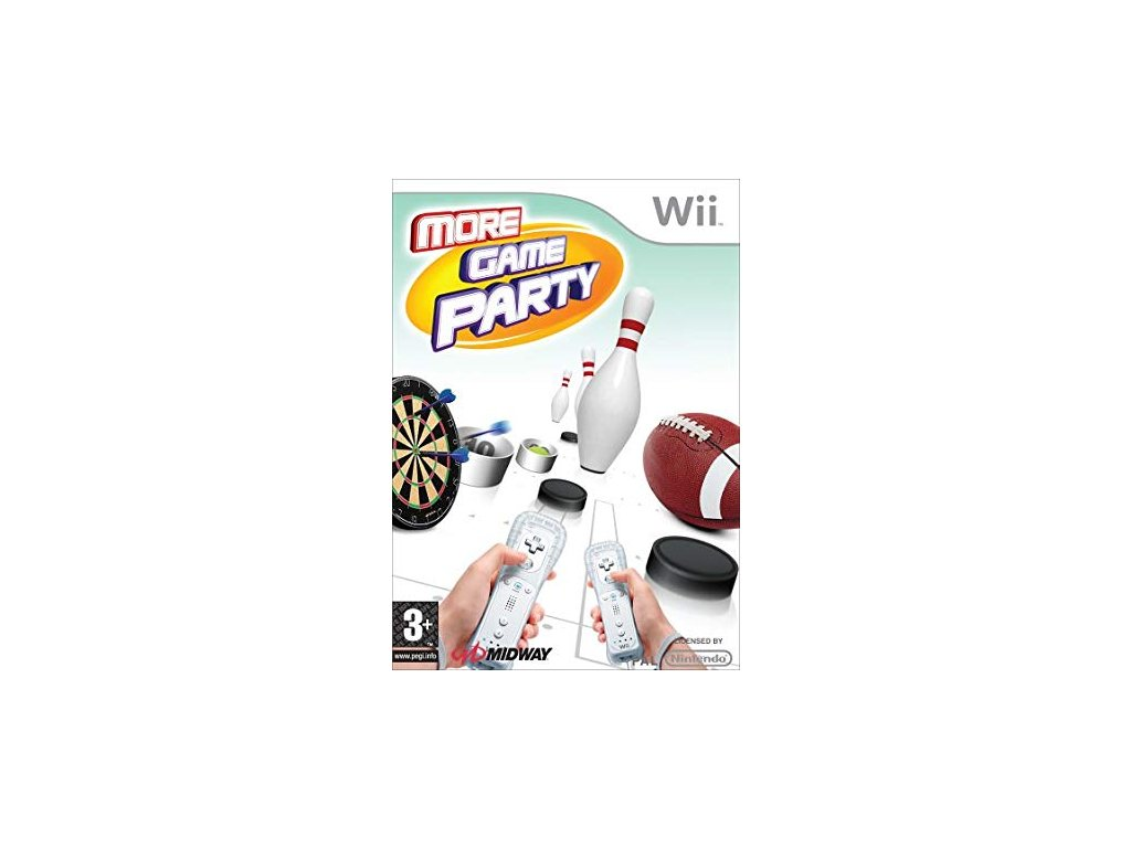Wii More Game Party