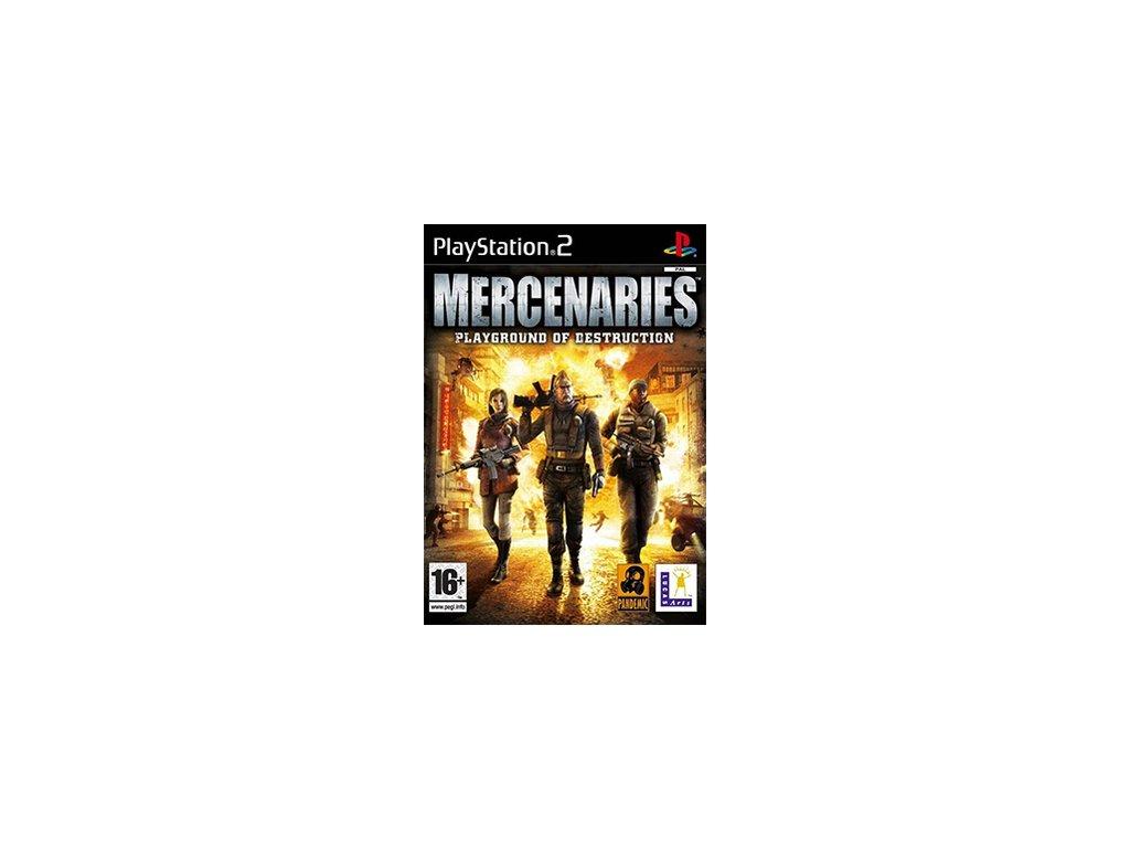 PS2 Mercenaries Playground of Destruction