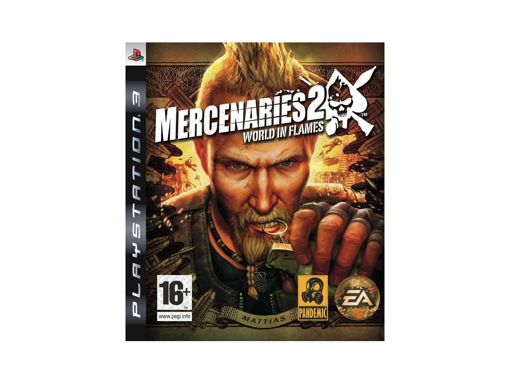 PS3 Mercenaries 2: World in Flames