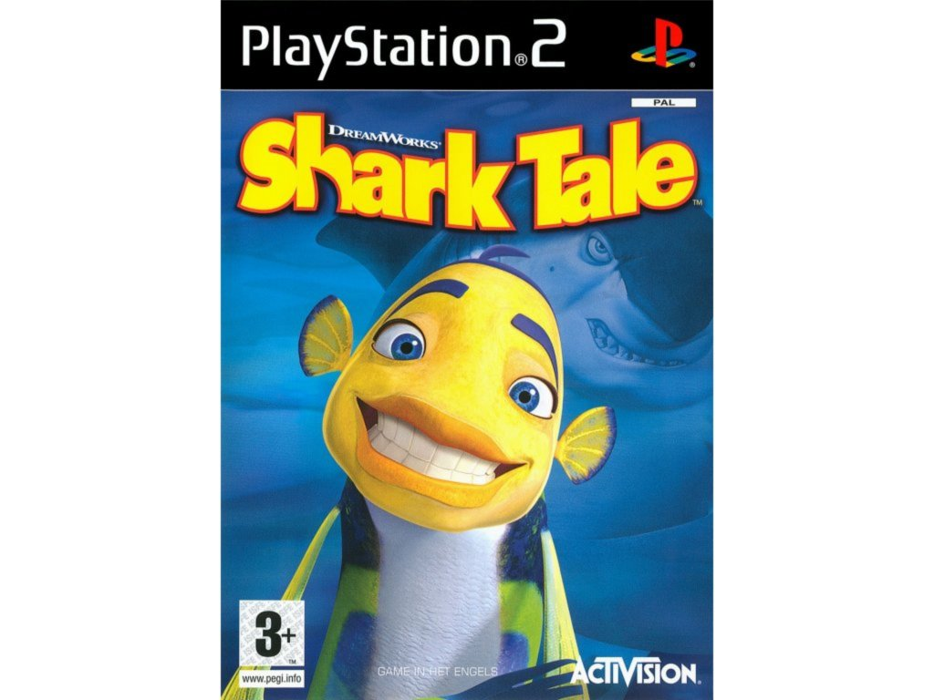 PS2 Shark Tale