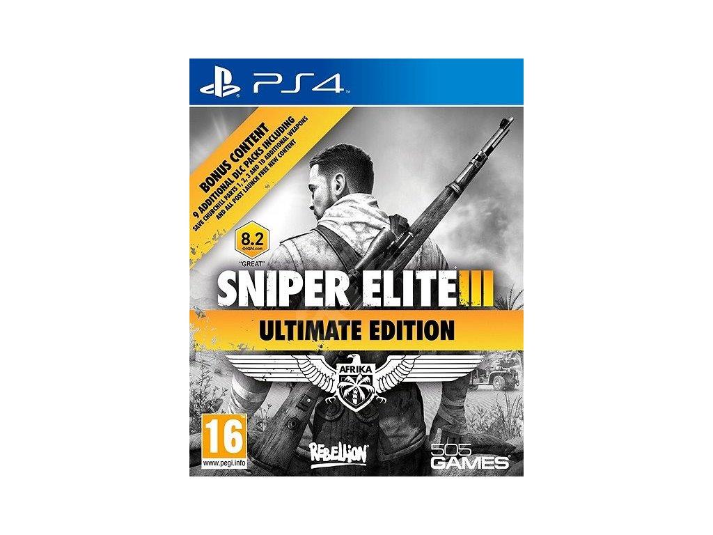 PS4 Sniper Elite 3 Ultimate Edition