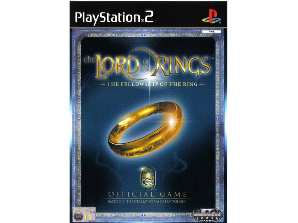 PS2 The Lord of the Rings The Fellowship of the Ring