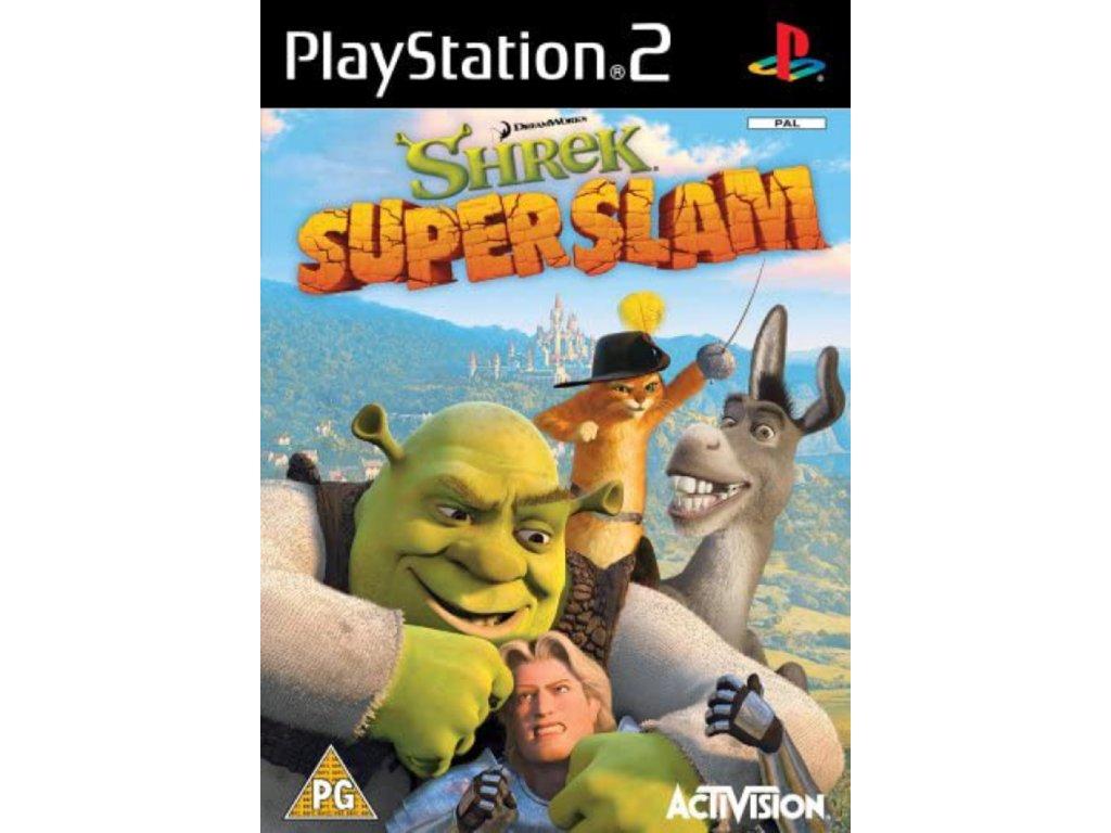PS2 Shrek Super Slam