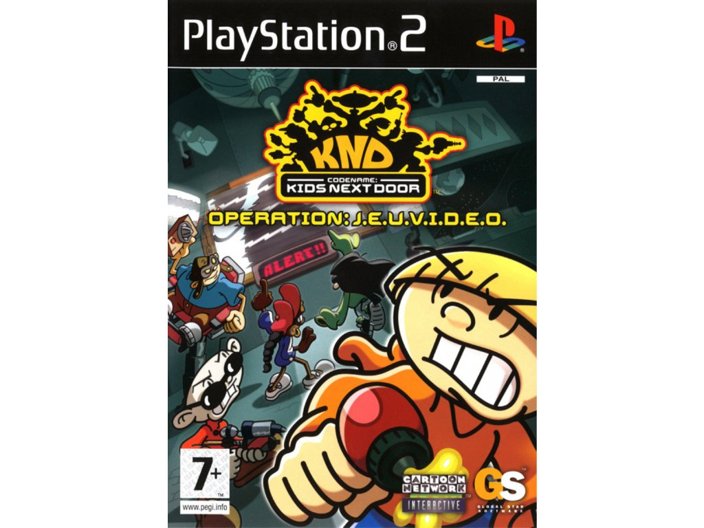 PS2 Codename Kids Next Door Operation VIDEOGAME