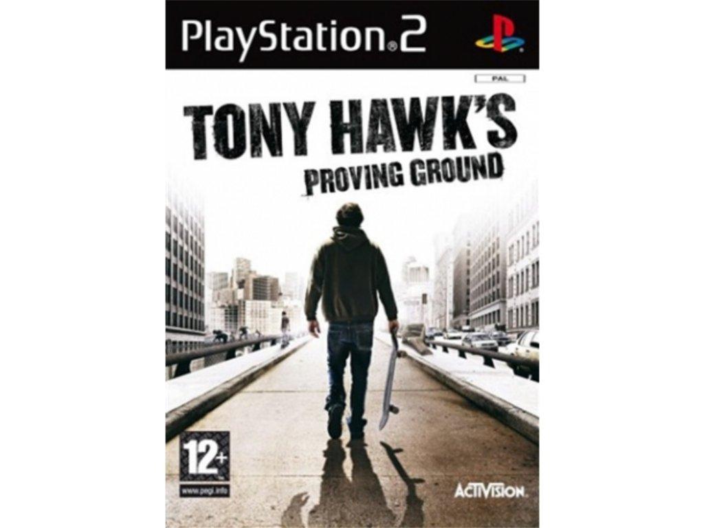 PS2 Tony Hawk's Proving Ground