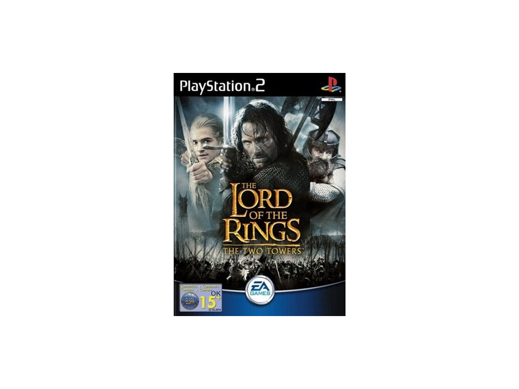 PS2 The Lord of the Rings: The Two Towers