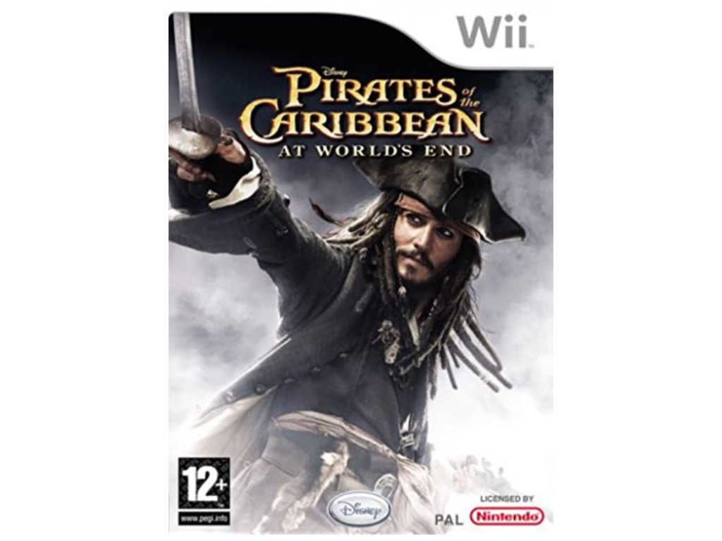 Wii pirates of caribbean at world's end