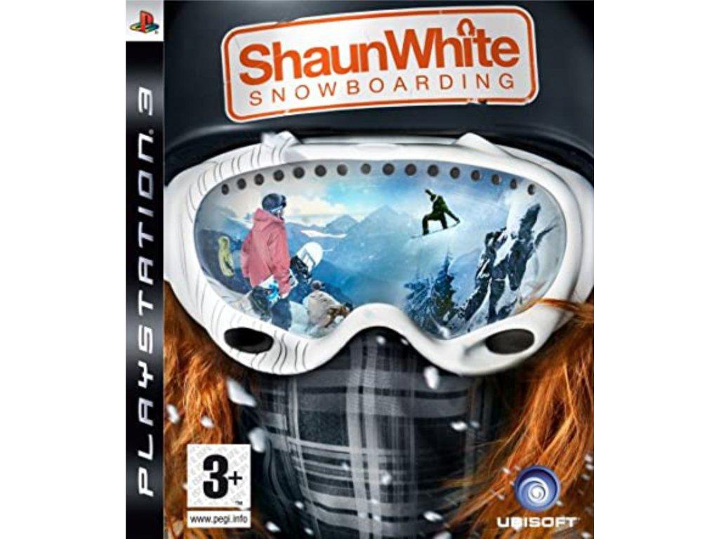 PS3 Shaun White Snowboarding