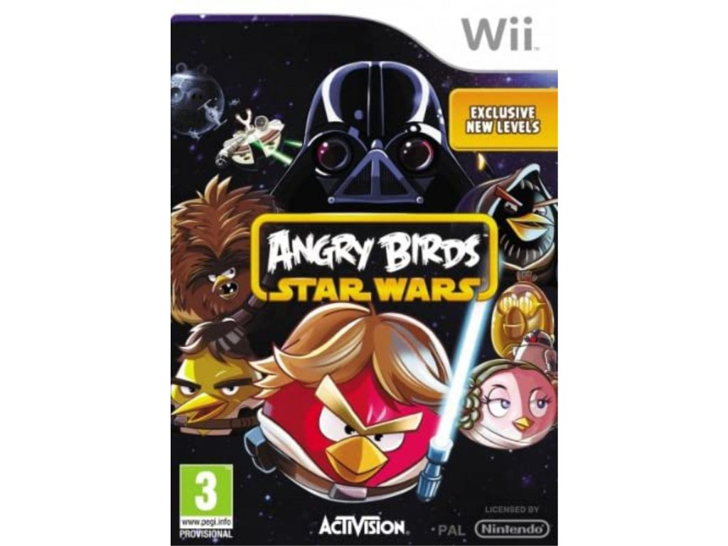 Wii Angry Birds Star Wars