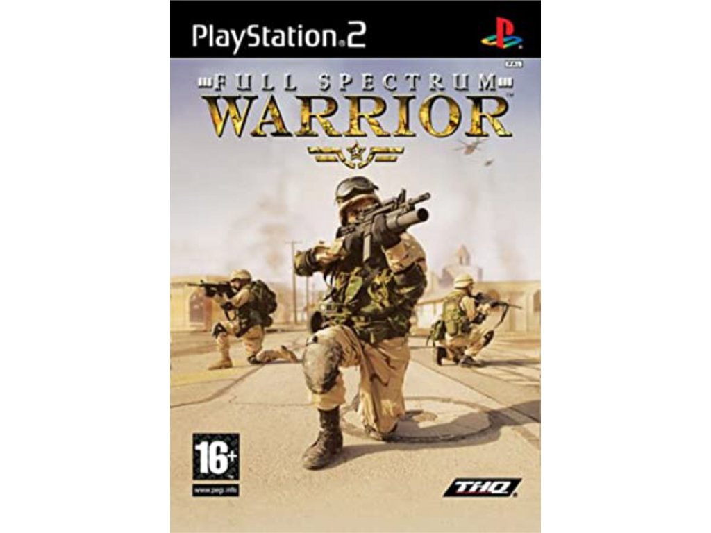 PS2 Full Spectrum Warrior