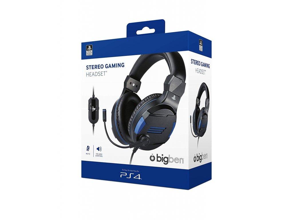 PS4 BigBen Stereo-Headset v3 (nové)