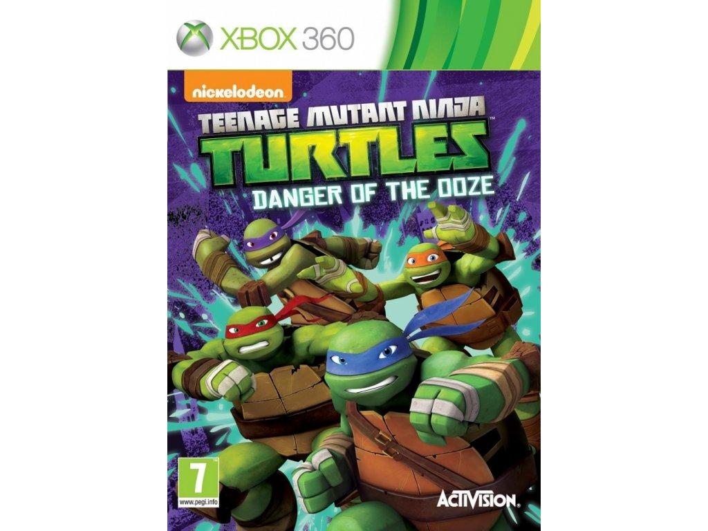 XBOX 360 Teenage Mutant Ninja Turtles Danger of the Ooze