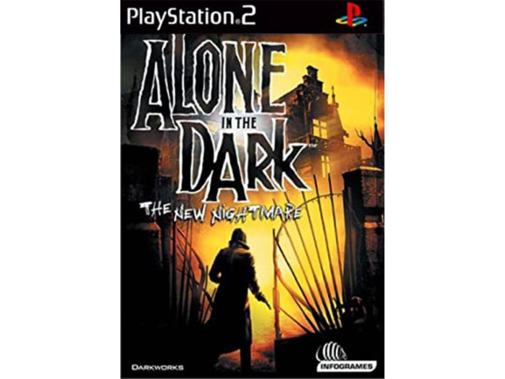 PS2 Alone in the Dark 4 The New Nightmare