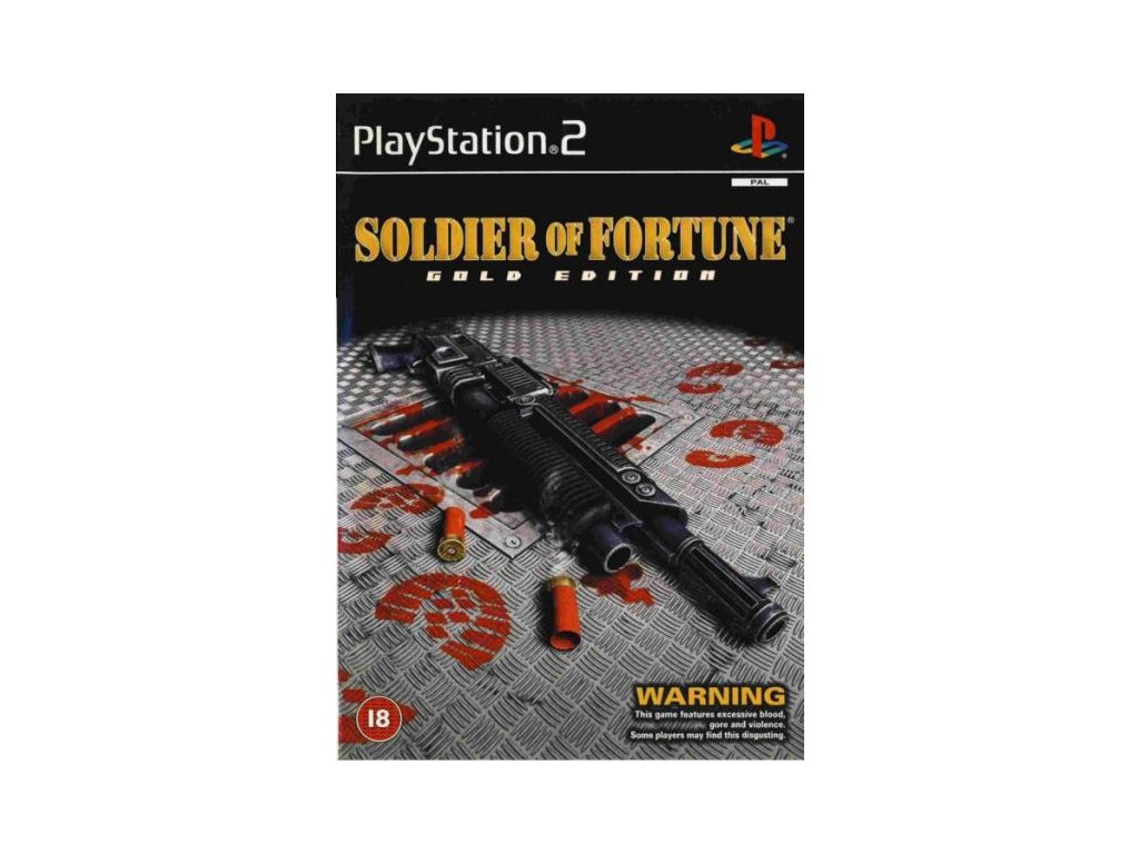 PS2 Soldier of Fortune Gold Edition