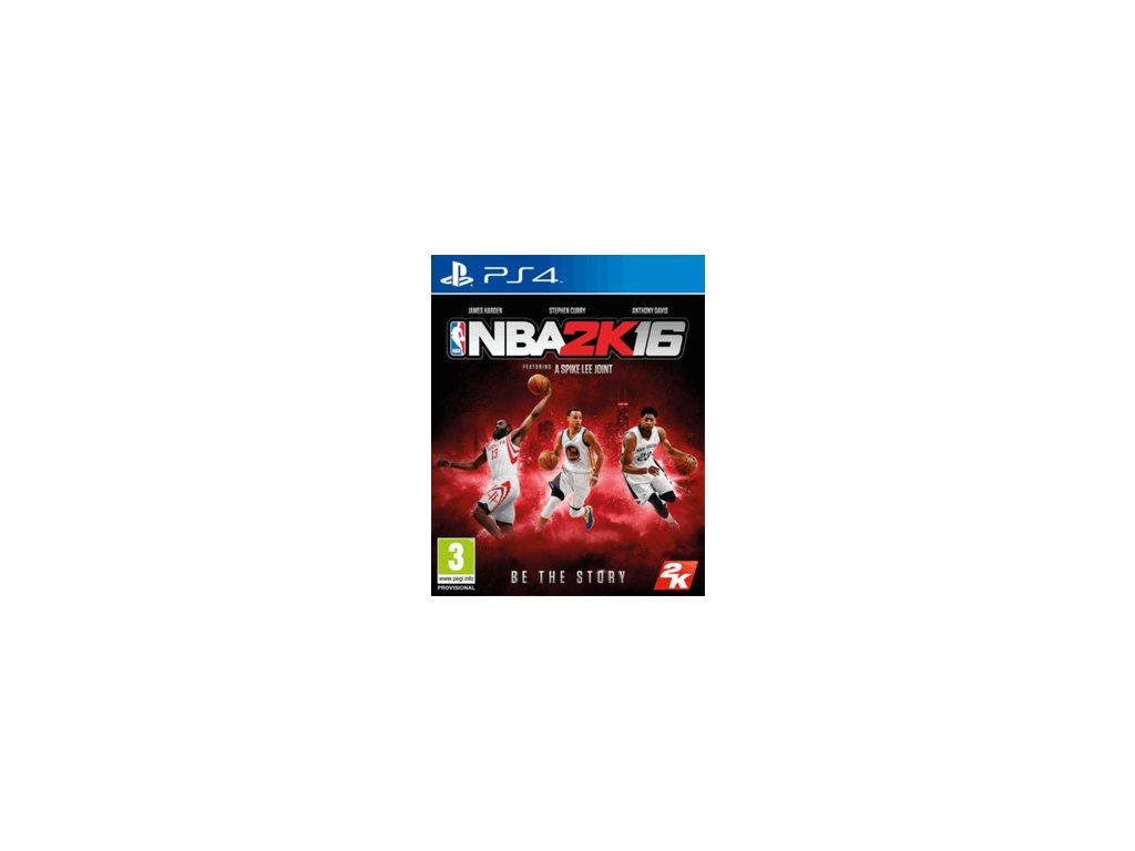 PS4 Nba 2k16 (nová)