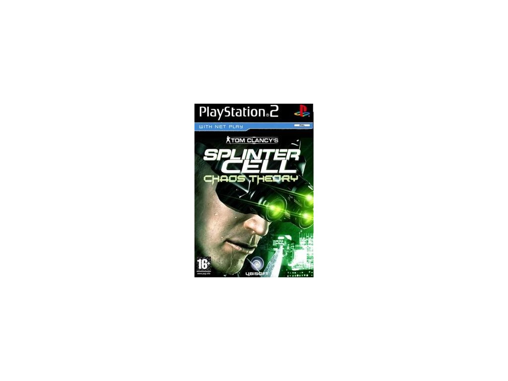PS2 Tom Clancy´s Splinter Cell: Chaos Theory