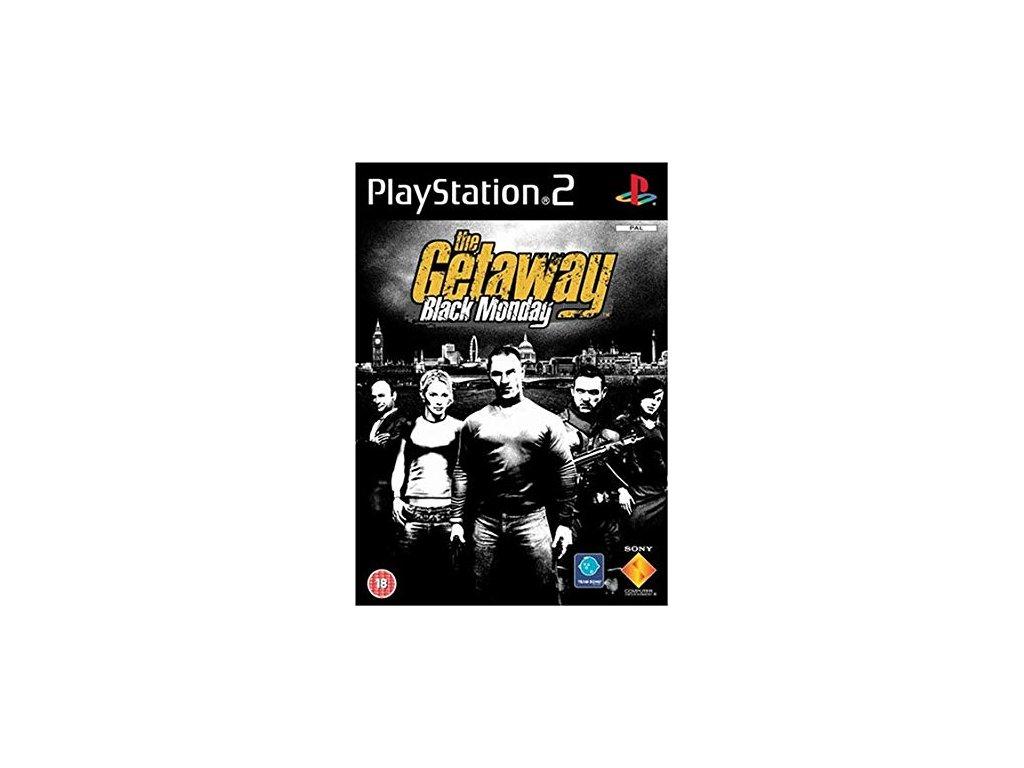 PS2 The Getaway 2: Black Monday