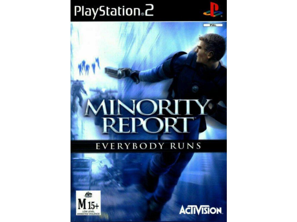 PS2 Minority Report: Everybody Runs