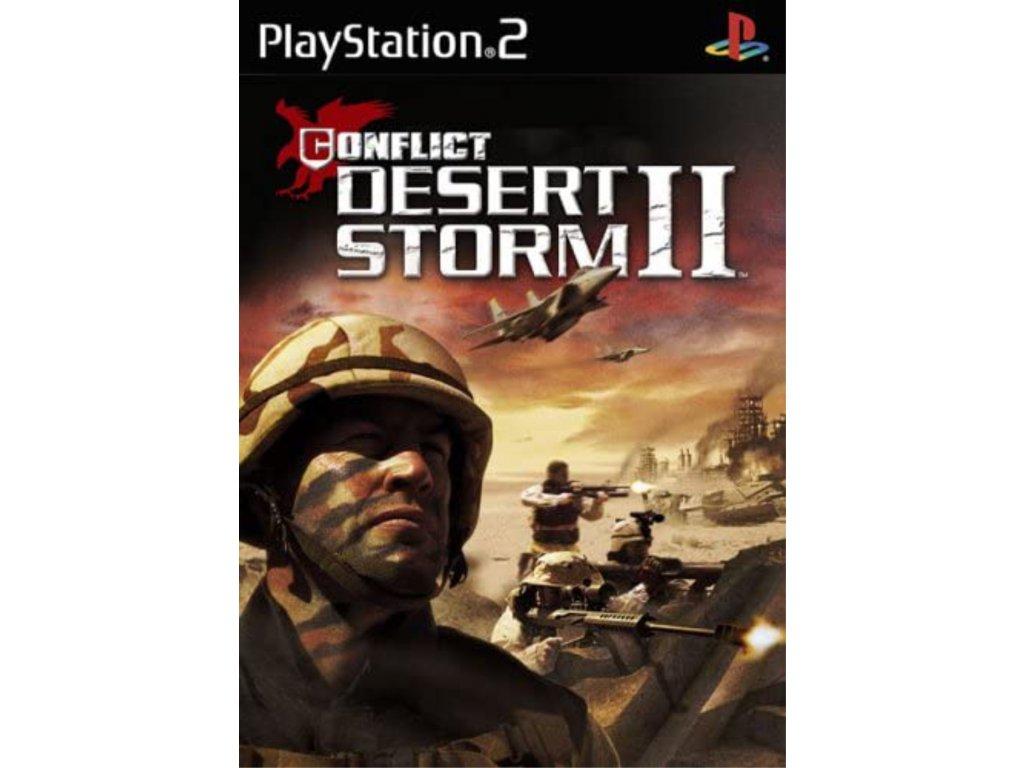 PS2 Conflict Desert Storm II