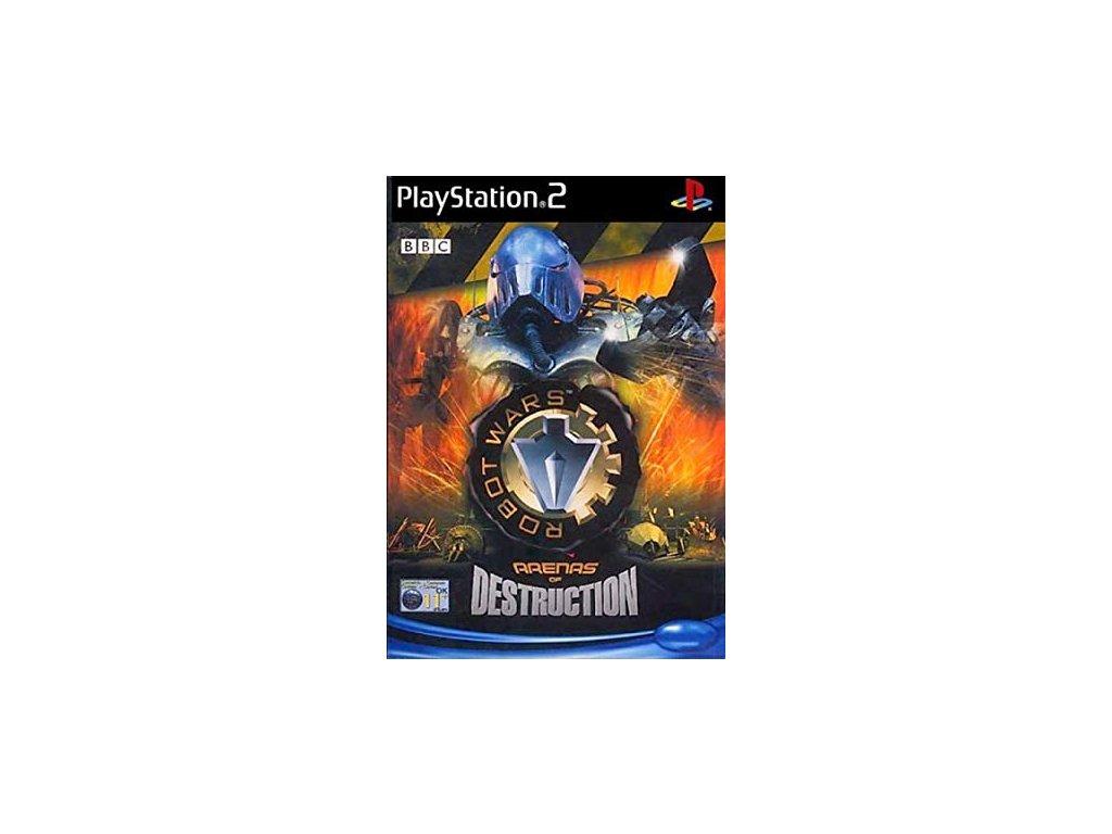 PS2 ROBOT WARS - ARENAS OF DESTRUCTION