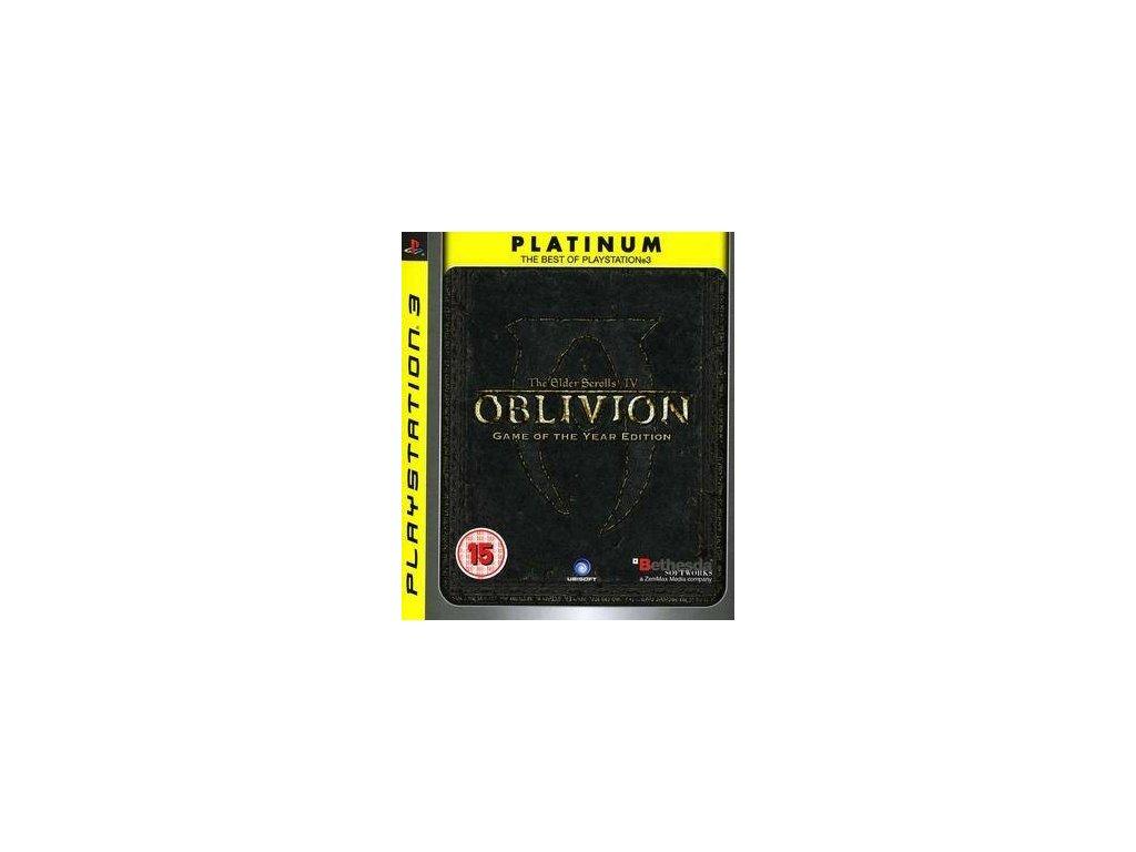PS3 The Elder Scrolls IV: Oblivion GOTY PLATINUM