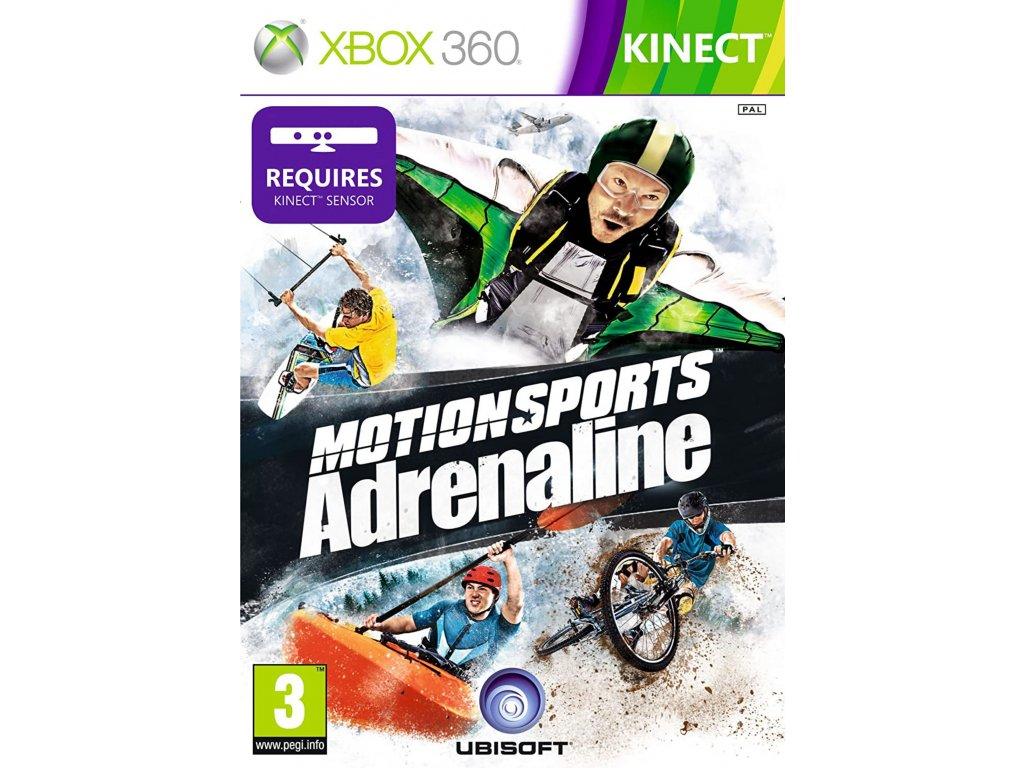 XBOX 360 Motionsports Adrenaline