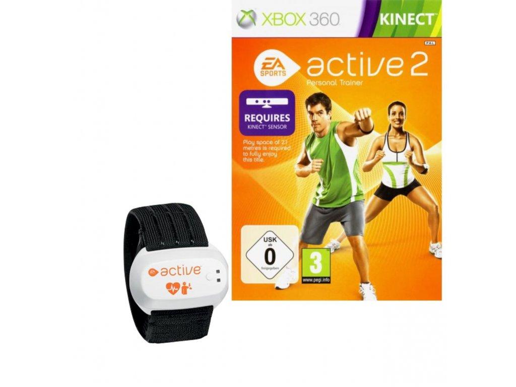XBOX 360 EA Sports Active 2 + senzor