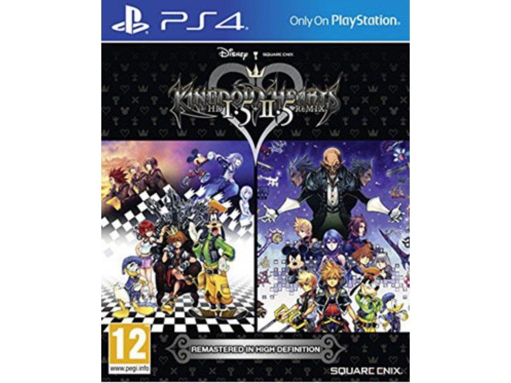 PS4 Kingdom Hearts HD 1.5 + 2.5 Remix