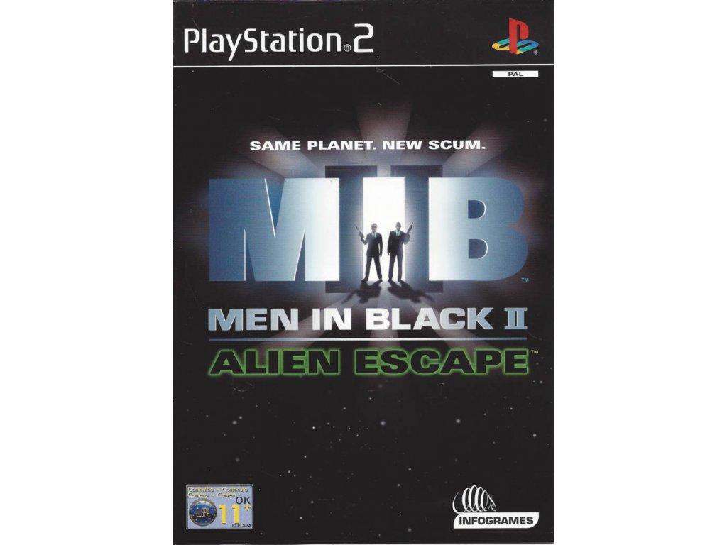 PS2 Men in Black II Alien Escape
