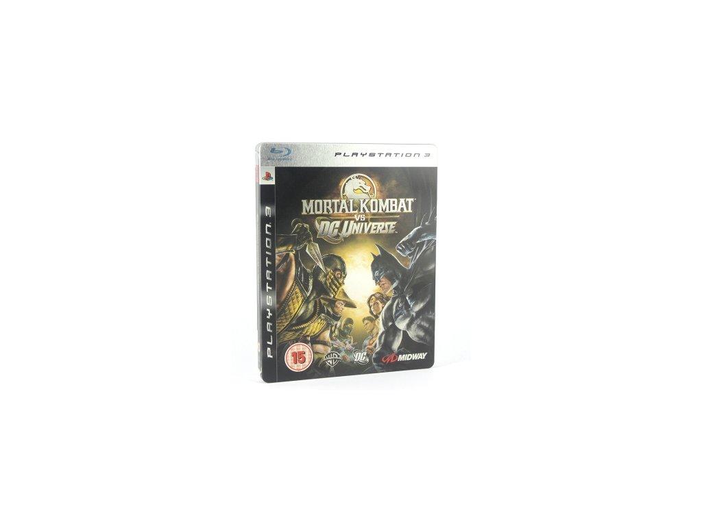 PS3 Mortal Kombat vs DC Universe Steelbook edition