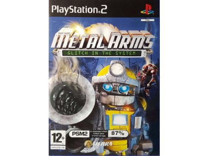 PS2 METAL ARMS GLITCH IN THE SYSTEM