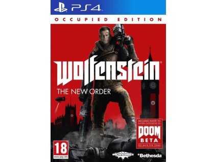 PS4 Wolfenstein: The New Order - Occupied Edition (nová)