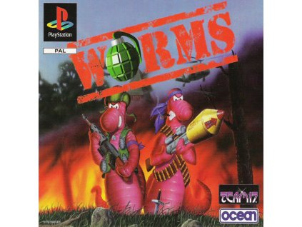 PS1 Worms BIG BOX
