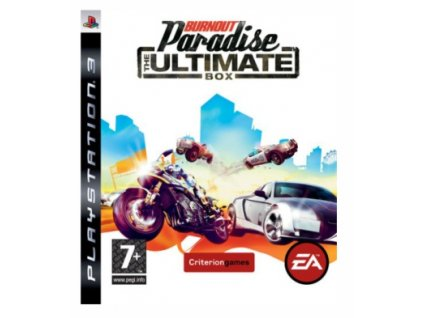 PS3 Burnout Paradise The Ultimate Box