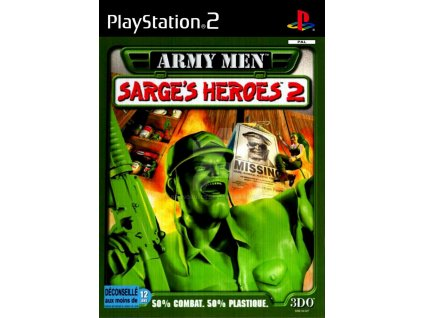 PS2 Army Men Sarge's Heroes 2