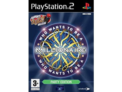 PS2 Who Wants To Be A Millionaire? Party Edition