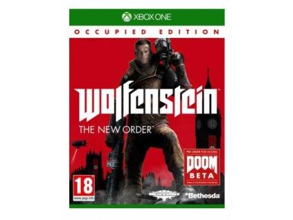 XBOX ONE Wolfenstein The New Order Occupied Edition